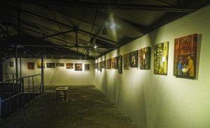 Exposició muntada