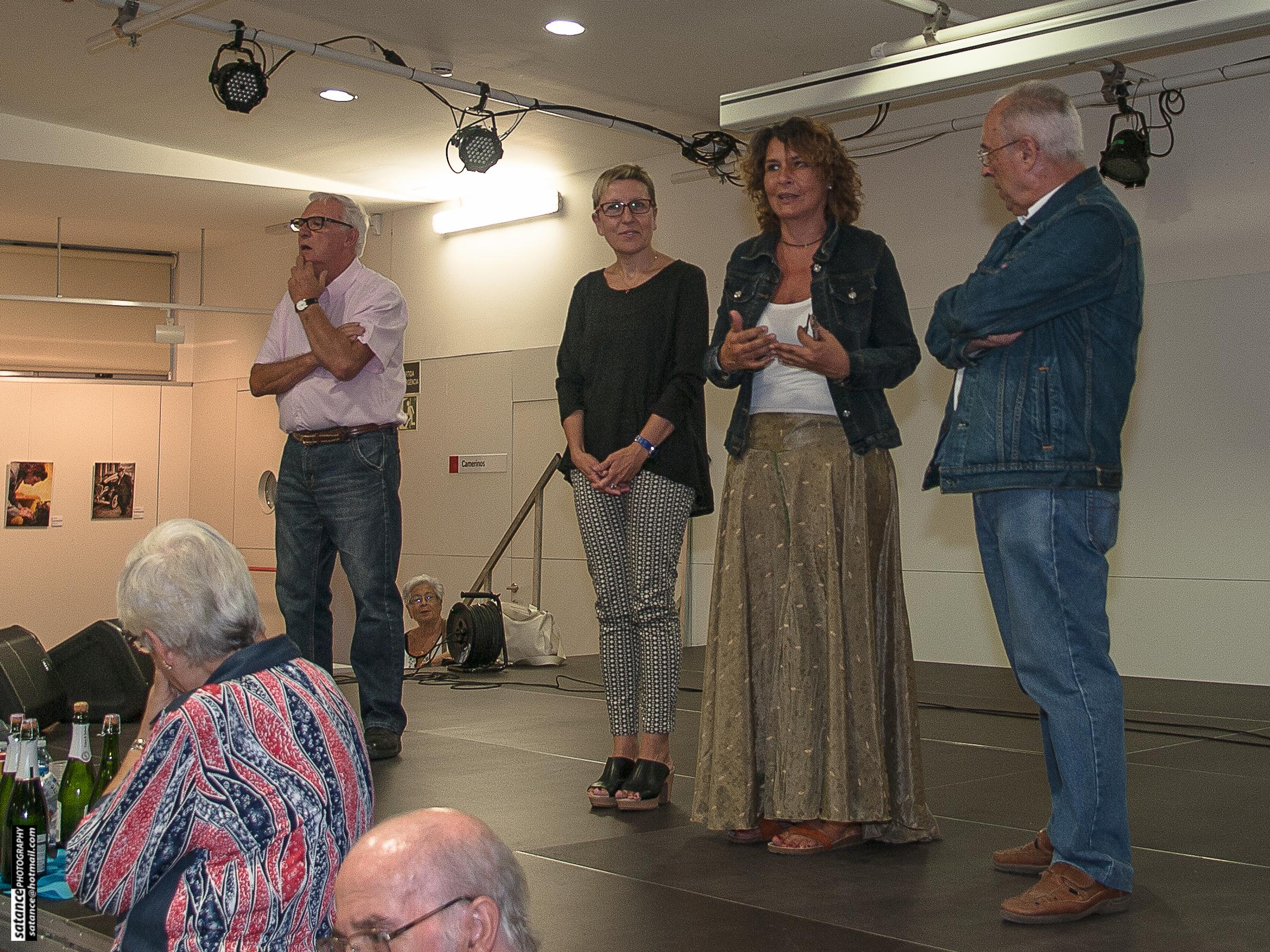 Pere Fernández, Carmen Andrés, Montse Benedí, Salvador Atance